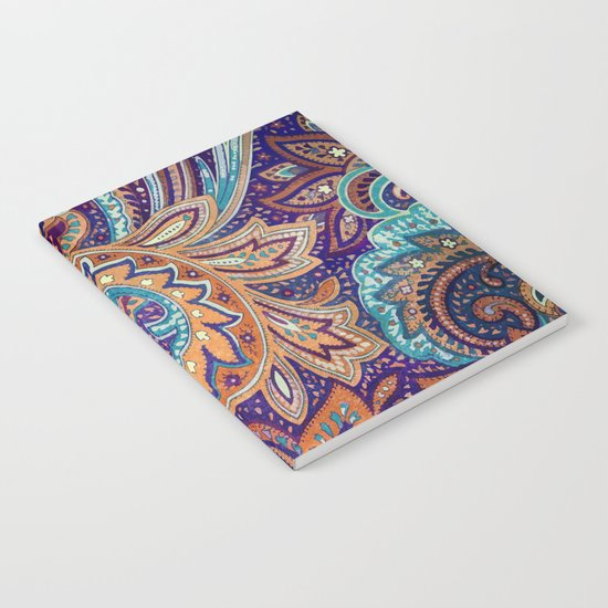 Summer paisley Notebook