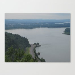 THE VIEW FROM UP TOP  Canvas Print