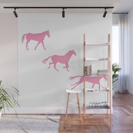 A Horse Runs_A Wall Mural