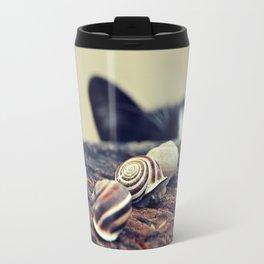 Cat Snails Travel Mug