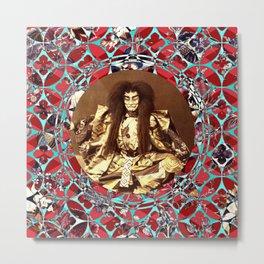 Kooky Kabuki (Just Say Noh) Metal Print
