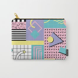 Memphis Pattern 27 - 80s - 90s Retro / 1st year anniversary design Carry-All Pouch