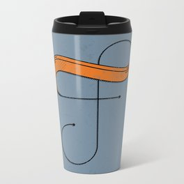 F 001 Metal Travel Mug