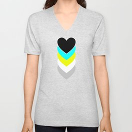 Requiessexuality in Shapes Unisex V-Neck