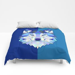 Graphic Wolf Comforters