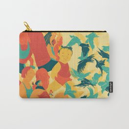 And A Little Girl Who Only Wished To Fly Carry-All Pouch