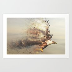 Stormhawk Art Print