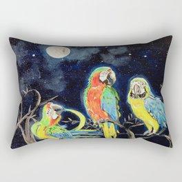 Moonlight Rendezvous Rectangular Pillow