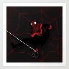 Ultimate Spider-man Miles Morales Art Print