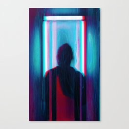 anaglych_30 Canvas Print