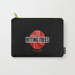 Funny Tree Hitter Frisbeegolf -Disc Golf Carry-All Pouch