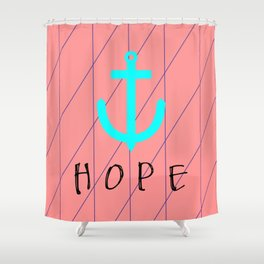 Christian Anchor of Hope Shower Curtain