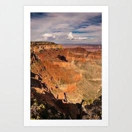 North_Rim Grand_Canyon, Arizona - III Art Print
