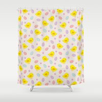 easter Shower Curtains featuring Easter pattern by eDrawings38