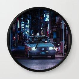 Kyoto Taxi Porn Wall Clock