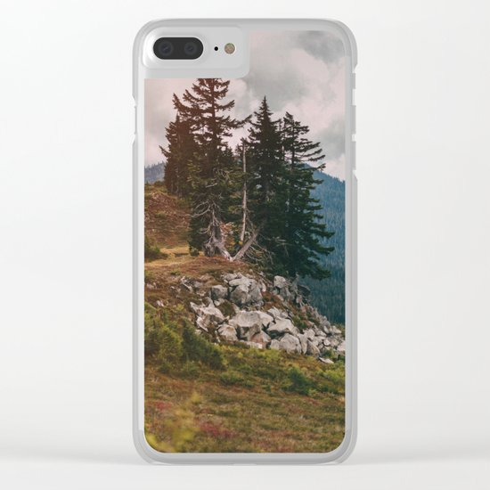 Northwest Forest Clear iPhone Case