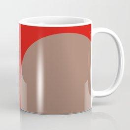 Cercle marron orange Coffee Mug