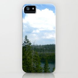 Tranquil Lake iPhone Case