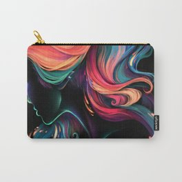 Deep Sea Neon Carry-All Pouch