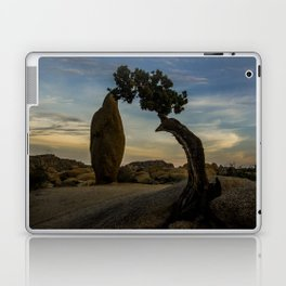 Juniper Tree in Joshua Tree National Park Laptop & iPad Skin