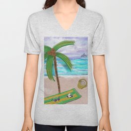 Play at Sea Unisex V-Neck