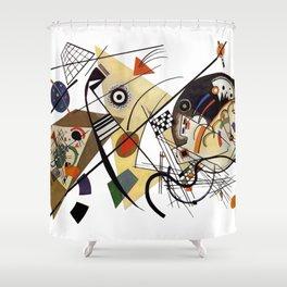 Kandinsky, Traverse Line 1923 Shower Curtain
