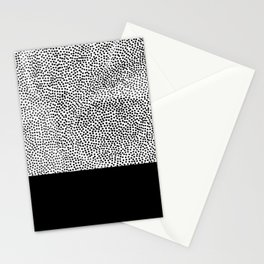 Dots and Black Stationery Cards
