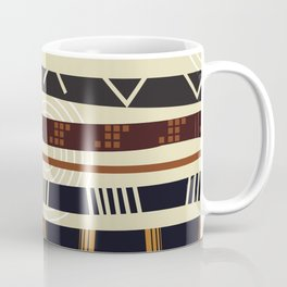 African Tribal Pattern No. 35 Coffee Mug