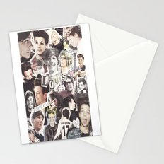 ONE DIRECTION LOUIS TOMLINSON - COLLAGE1 Stationery Cards