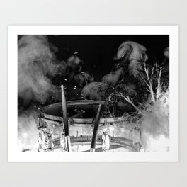 DARK SNARE Art Print