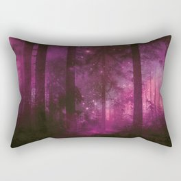 Into The Purpur Light Rectangular Pillow