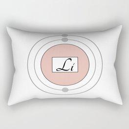 Lithium - Bohr Model Rectangular Pillow
