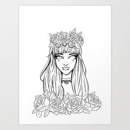 Gothita Art Print