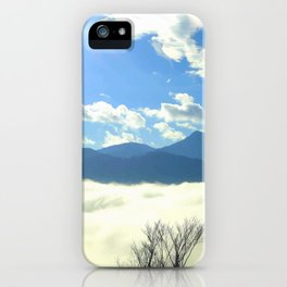 Winter in Slovenia iPhone Case