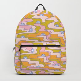 Psych Flower Backpack