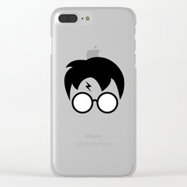 Harry P minimal Clear iPhone Case