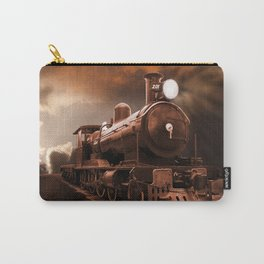 The Steam Trains Final Trip Carry-All Pouch