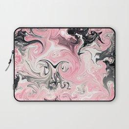 "Shabby Chic ""Saltwater Taffy"" Pink Swirls Laptop Sleeve"