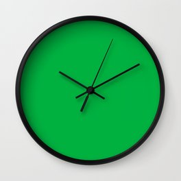 CHROMA KEY GREEN CORRECT HEX COLOR  Wall Clock