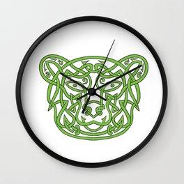 Bear Celtic Knot Wall Clock