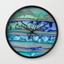 If Lava Ran Cold Vertical Wall Clock