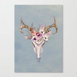 Deer Skull 2 Canvas Print