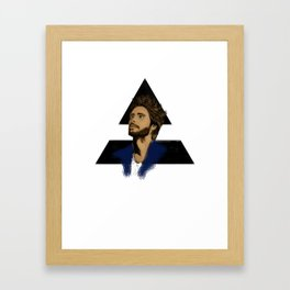 ECHELON (BLACK) Framed Art Print