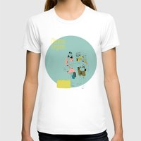 moonrise T-shirts featuring Moonrise by la belette rose