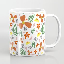 Fine Floral Foliage Coffee Mug
