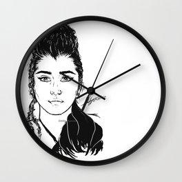 Lauren Jauregui/Mulan Original Design Digital Painting Wall Clock