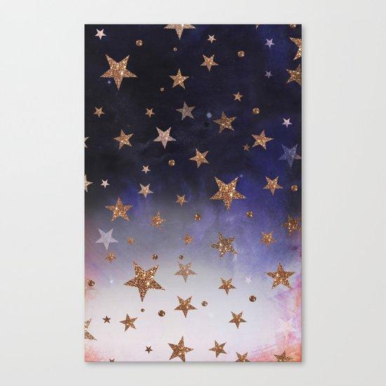 Star Clouds Canvas Print