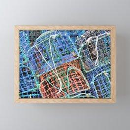 Lobster pots Framed Mini Art Print
