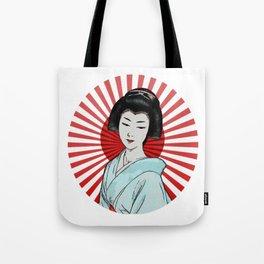 Jap girl Tote Bag