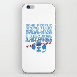 911 DISPATCHER iPhone Skin